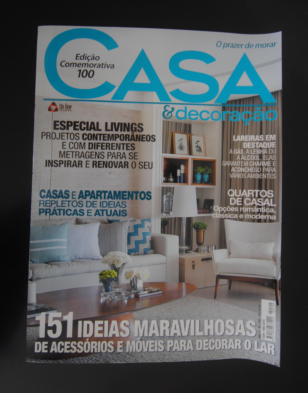 Capa Revista Casa&Decoração
