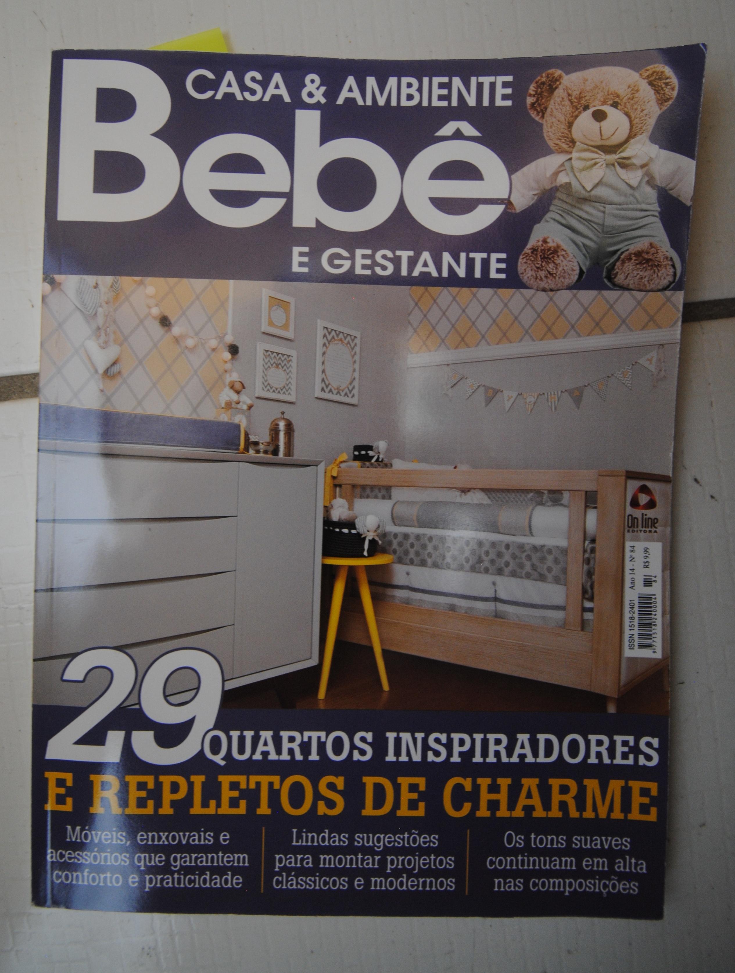 Capa da revista Casa&Decorac ão especial Bebê&Gestante
