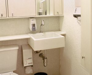 banheiro consultório 35m2