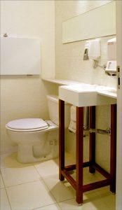 banheiro recepção 2 consultório 35m2