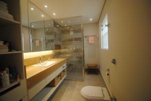 Banho e lavabo AB 9m² e 3m²